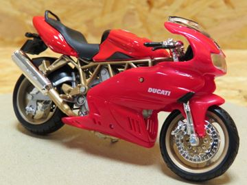 Afbeelding van Ducati Supersport 900 red 1:18 bburago