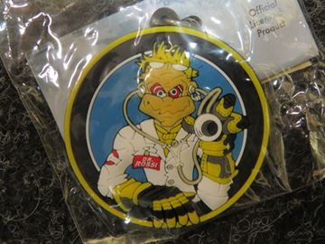 "Picture of Valentino Rossi keyring ""the Doctor"""
