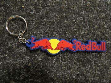 Afbeelding van Red Bull sleutelhanger keyring lang