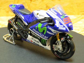 Picture of Jorge Lorenzo Yamaha YZR-M1 Movistar 2014 1:18 MotoGP Monster 31586