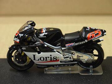 Afbeelding van Loris Capirossi Honda NSR500 2002 1:24