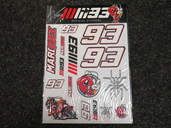Picture of Marc Marquez stickers big 162603