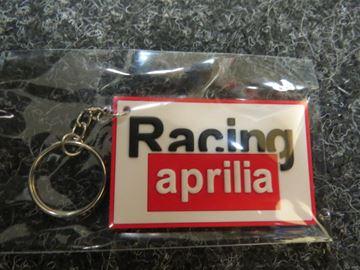 Picture of Keyring sleutelhanger Aprilia racing white