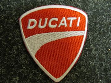 Picture of Patche opstrijk embleem Ducati rd/wh