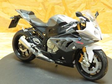 Afbeelding van BMW S1000RR grey 1:12 606204