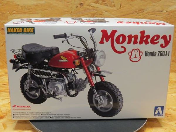 Picture of Bouwdoos Honda Monkey Z50J-1 1:12 Aoshima