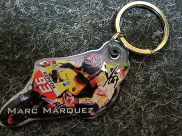 Picture of Marc Marquez keyring foto moto