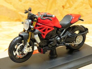 Picture of Ducati Monster 1200 red 1:18 39300 Maisto