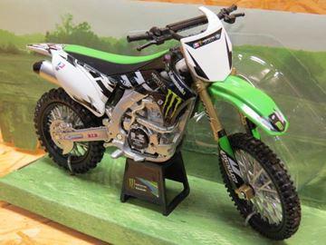 Picture of Kawasaki Monster KX450F Villopoto replica 1:12 57543