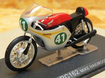 Afbeelding van Mike Hailwood Honda RC162 1961 1:24