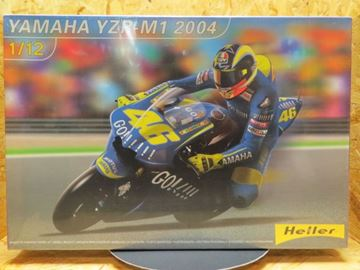Picture of Bouwdoos Valentino Rossi Yamaha YZR-M1 2004  1:12 Heller