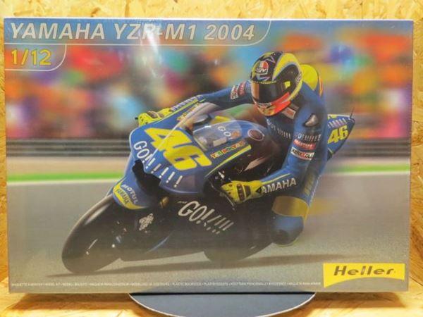 Picture of Bouwdoos Valentino Rossi Yamaha YZR-M1 2004  1:12 Heller
