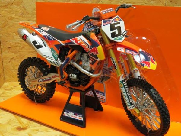 Picture of Ryan Dungey #5 Red Bull 2014 KTM 450 SX-F 1:6 49463