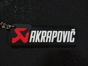 Afbeelding van Akrapovic sleutelhanger keyring
