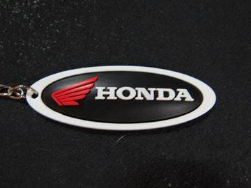 Picture of Honda sleutelhanger keyring black