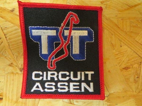 Verbazingwekkend Patch opstrijk embleem TT Circuit Assen VW-01