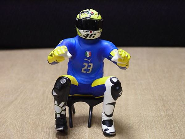 Picture of Valentino Rossi figuur riding 2006 Sachsenring 1:12