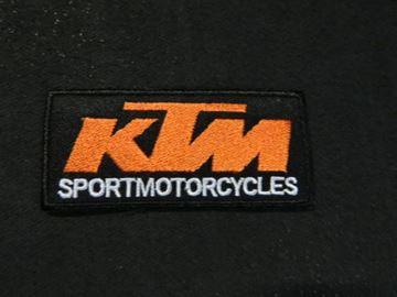 Afbeelding van Patche opstrijk embleem KTM black