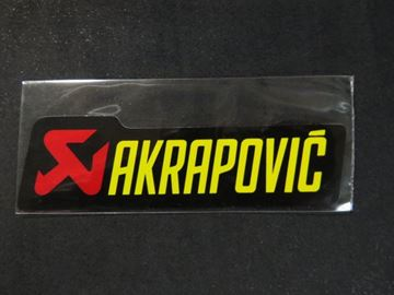 Picture of Foil sticker Akrapovic