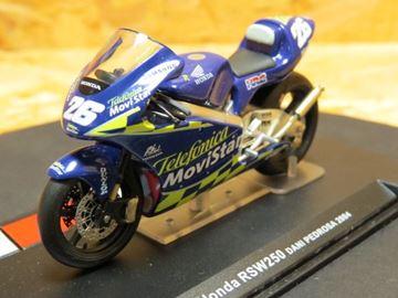 Picture of Dani Pedrosa Honda RSW250 2004 1:24