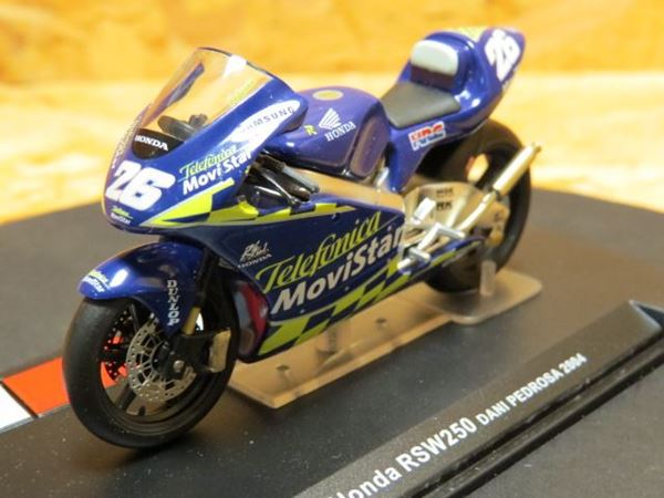 Picture of Dani Pedrosa Honda RSW250 2004 1:24