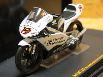 Afbeelding van Alvaro Bautista Honda RSW125 2005 1:24 IXO