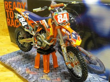 Picture of Jeffrey Herlings KTM 250 SX-F 2014 red bull team 1:12 6063