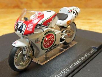 Picture of Kevin Schwantz Suzuki RGV500 1993 1:24