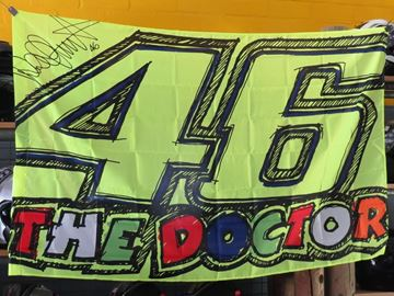 Afbeelding van Valentino Rossi vlag 46 The Doctor flag VRUFG209403