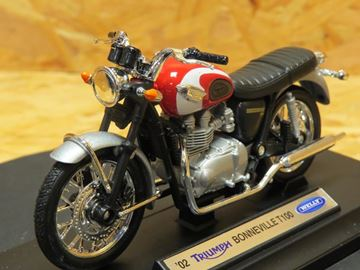 Picture of Triumph T100 Bonneville 2002 1:18 12172 Welly