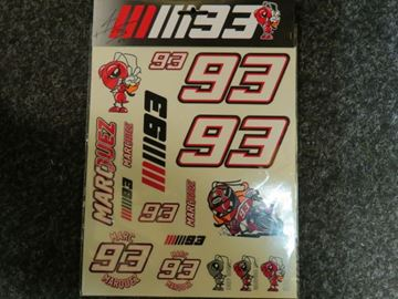 Picture of Marc Marquez stickers big 1653055