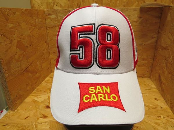 Picture of Marco Simoncelli cap pet 58 San Carlo 1645001