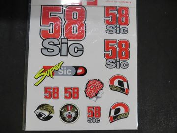 Picture of Marco Simoncelli sticker big 1655016