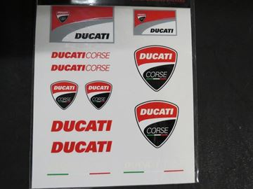 Afbeelding van Ducati racing stickers big 1456006