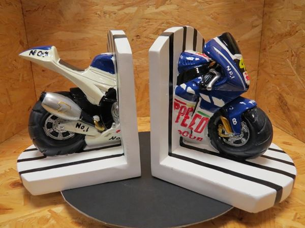 Picture of Valentino Rossi MotoGP boeksteun set Booster