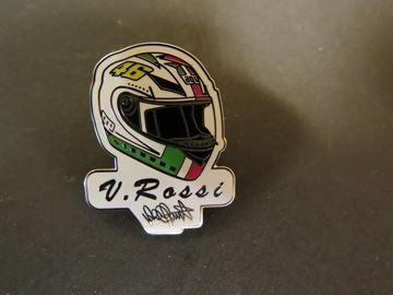 Afbeelding van Valentino Rossi Pin Helmet Mugello 2002