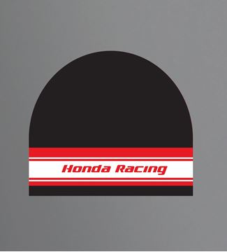 Picture of Honda racing beanie muts black
