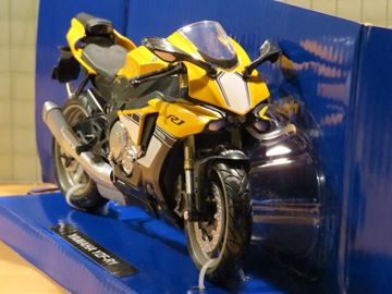 Picture of Yamaha YZF R-1 1:12 yellow 57803