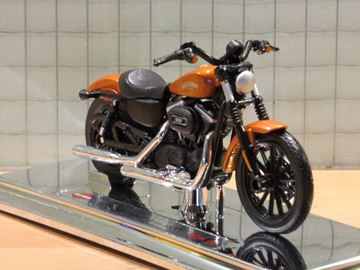 Picture of Harley Davidson Sportster Iron 883 copper 2014 1:18 (002)