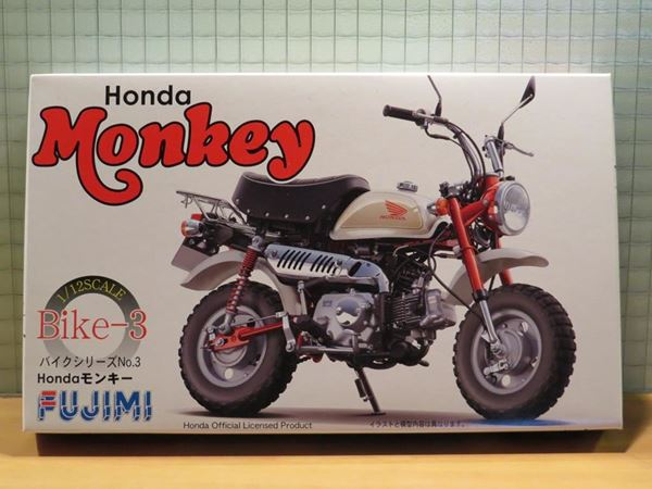 Picture of Bouwdoos Honda Monkey Z50 1:12 Fujimi