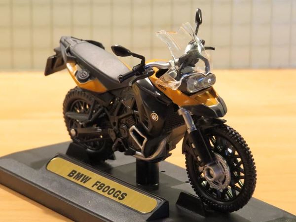 Picture of BMW F800GS F800 GS 1:18 Motormax