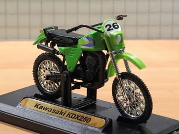 Picture of Kawasaki KDX250 1:18 Motormax