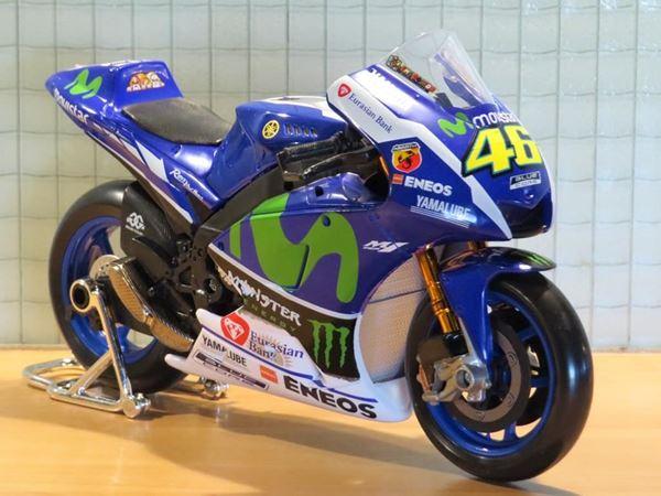 Picture of Valentino Rossi Movistar Yamaha YZR-M1 2016 1:10 31408