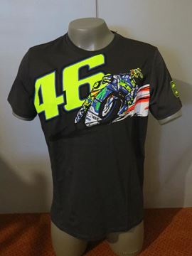 Picture of Valentino Rossi banking Vale t-shirt VRMTS260320