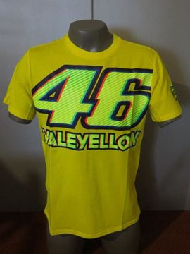 Picture of Valentino Rossi 46 VALEYELLOW t-shirt  VRMTS261701