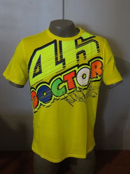 898301a9 Picture of Valentino Rossi 46 The Doctor t-shirt VRMTS261801