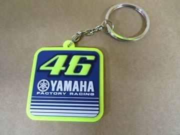 Picture of Valentino Rossi Yamaha dual keyring YDUKH273403
