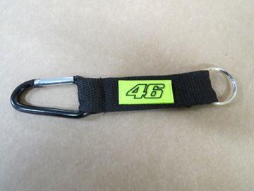 Afbeelding van Valentino Rossi 46 Keyring snaplink snap hook VRUKH266804
