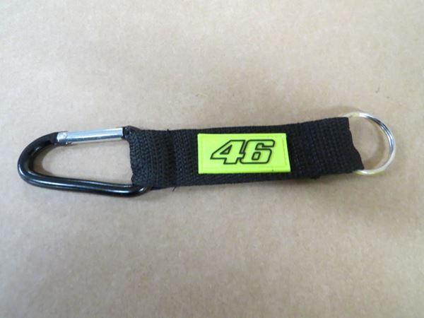 Picture of Valentino Rossi 46 Keyring snaplink snap hook VRUKH266804