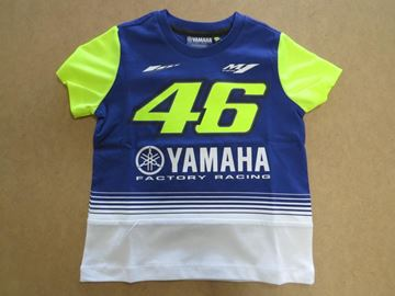 Picture of Valentino Rossi Dual Yamaha kids t-shirt YDKTS272503